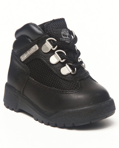 Timberland - Boys Black Field Boots
