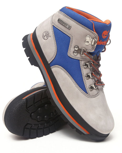 Timberland Boys Grey Euro Hiker Boots