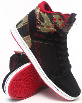 Praxis Footwear - Balance Tiger Camo Suede Sneakers