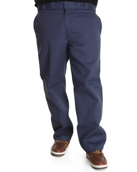 Dickies Navy Original Dickies 874 Pant (Big & Tall)