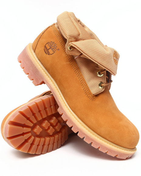 Timberland - Men Wheat Earthkeepers Roll Top Boots