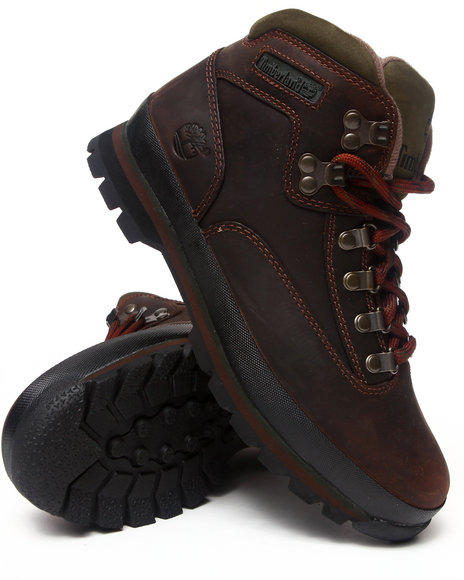 Timberland - Men Brown Euro Hiker Leather Boots
