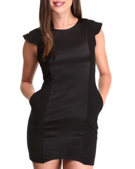 This Is A Love Song - Women Black Jackson Dress