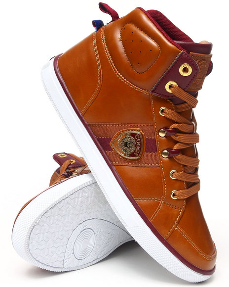 COOGI Tan Vidar Hightop Sneaker