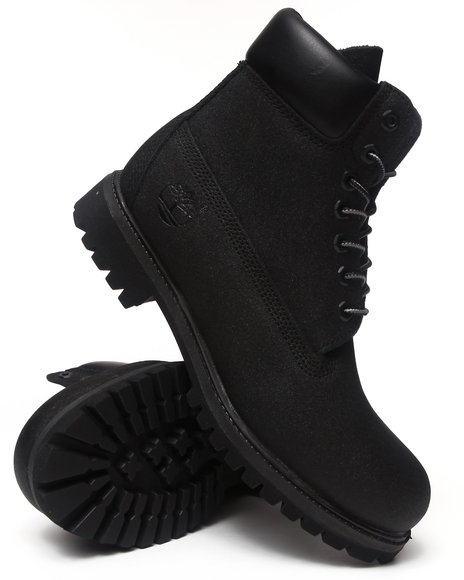 Timberland - Men Black Scuff-Proof 6-Inch Premium Boots