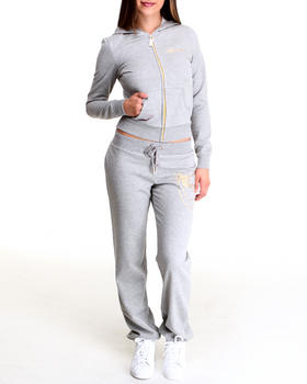 Apple Bottoms - Long Sleeve Active Hoodie Set