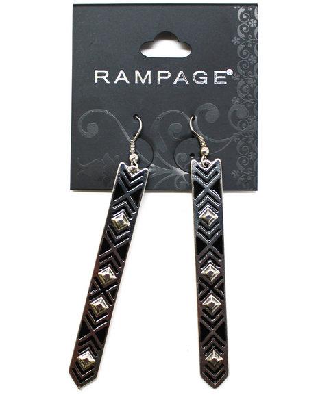 Rampage Aztec Way Earrings Silver