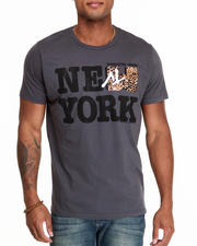Men - New York MTV Leopard tee