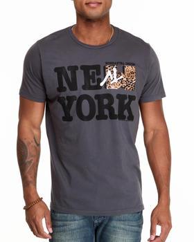 Junk Food - New York MTV Leopard tee
