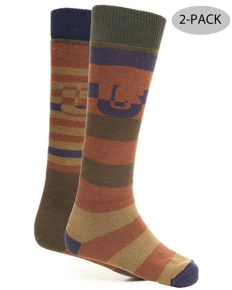Burton - Men Multi Weekender Two-Pack Socks