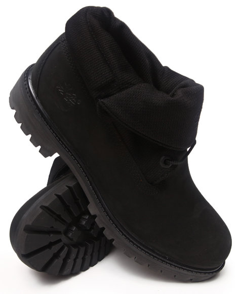 Timberland - Men Black Earthkeepers Roll Top Boots
