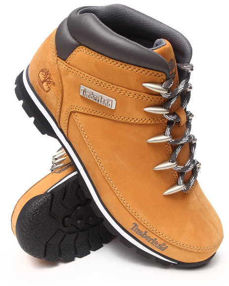 Timberland Men New Market Euro Sprint Hiker Boots Wheat 10.5