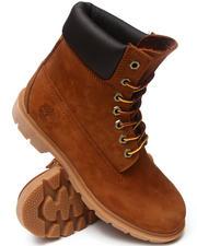 "Footwear - Rust Nubuck 6"" Basic Boots"