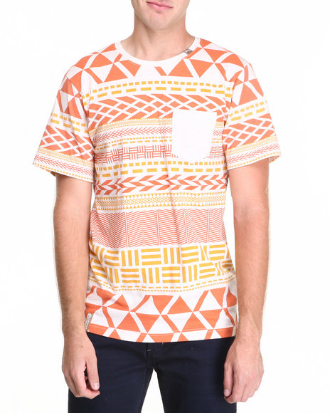 Lrg - Men Off White Naturalist S/S Tee