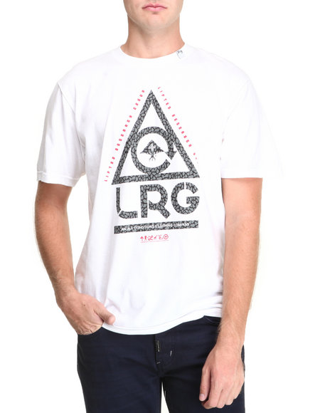 Lrg - Men White All Conditions S/S Tee