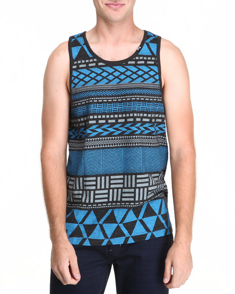 Lrg - Men Black Naturalist Tank Top