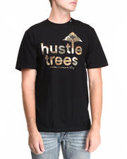 Men - Hustle Trees Grainman Camo S/S Tee