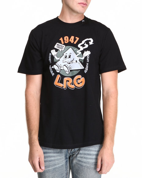 Lrg - Men Black Naturally Lifted S/S Tee