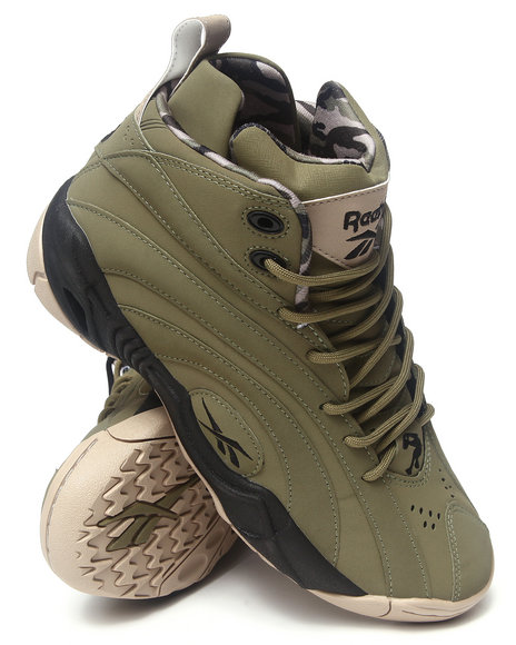 Reebok - Men Green Shaqnosis Og Sneakers