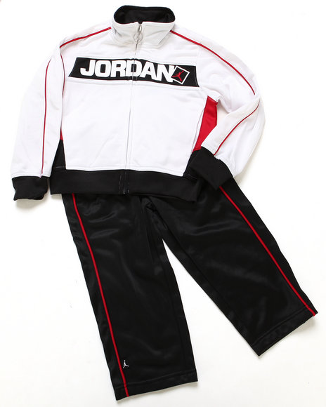 Air Jordan - Boys White 2 Pc
