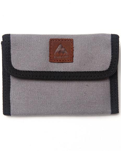 Burton Claymore Wallet Grey