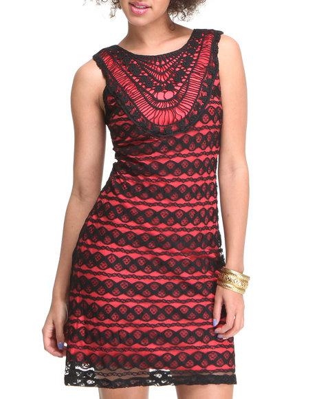 Fashion Lab Women ALine Dress Black Large