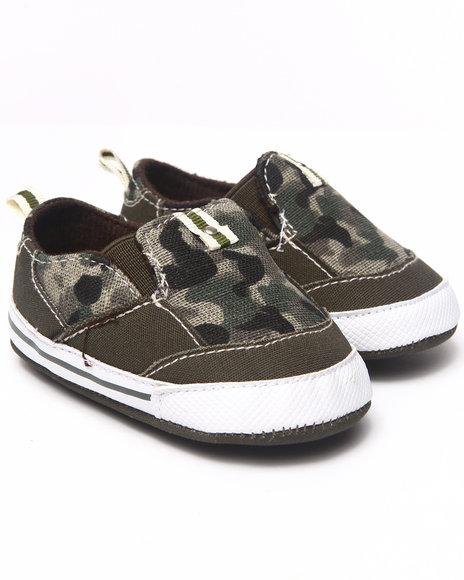 Arcade Styles Boys Camo Camo Slip On Shoe (Newborn)