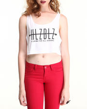 Women - ALL SEASONS CROP TANK