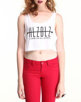 Hellz Bellz - ALL SEASONS CROP TANK