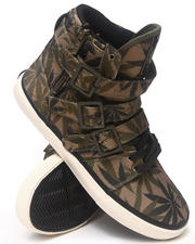 Radii Footwear - Straight Jacket VLC Camo Leaf Sneakers