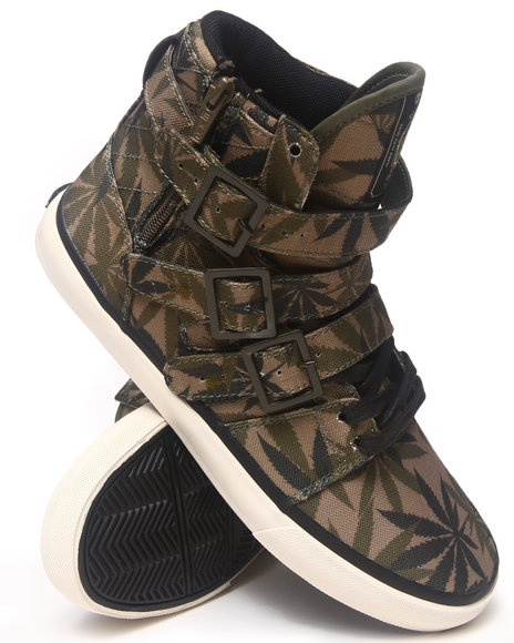 Men High Top Buckle