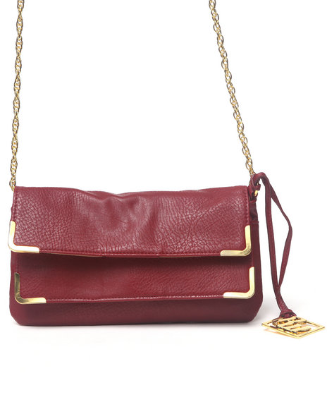 Rocawear Leah Chain Clutch Red