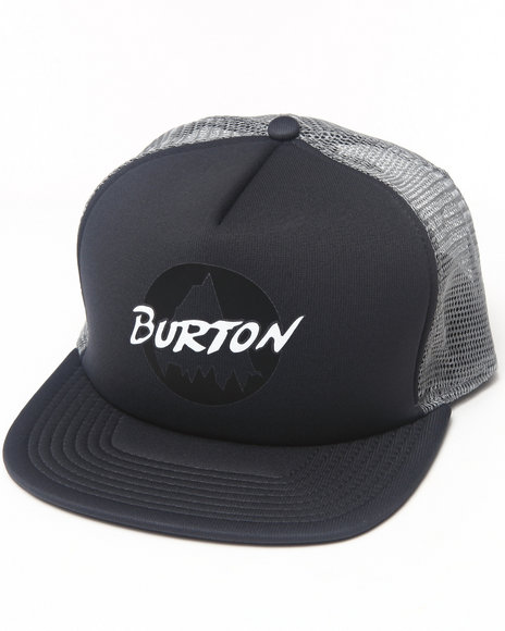 Burton Mountain '86 Trucker Snapback Cap Grey