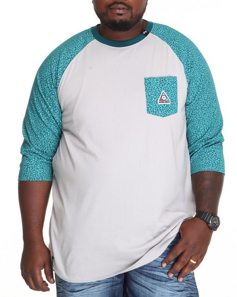 Lrg - Men Teal Color Of The Season Raglan Tee (B&T)