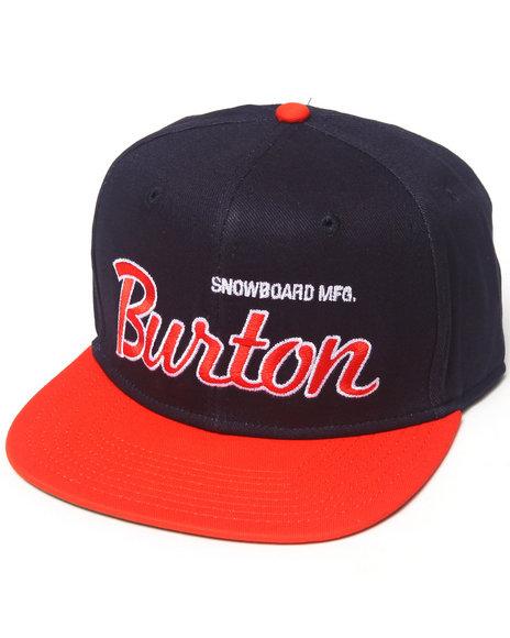 Burton Standard Snapback Cap Navy
