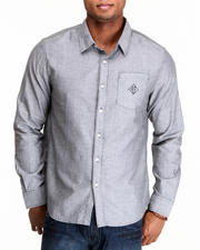 The Skate Shop - Classic Chambray L/S Button-down