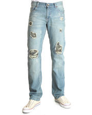 Jeans & Pants - Camo Rips Denim Jeans
