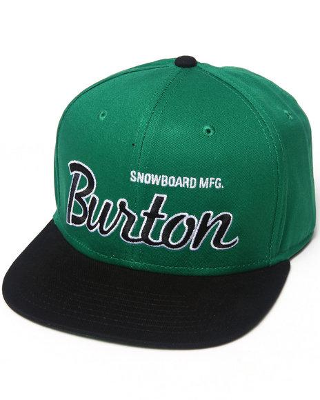 Burton Standard Snapback Cap Green