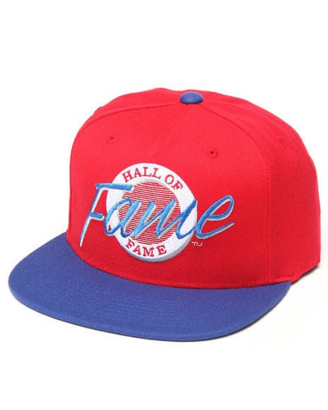 Hall Of Fame Vegas Snapback Cap Blue