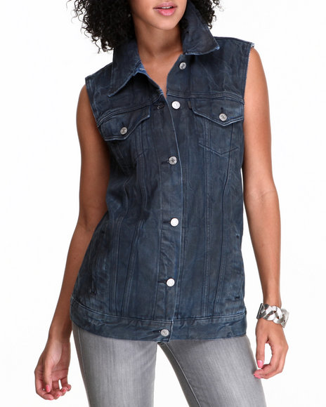 Levi's - Women Blue Oversized Vest