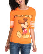 mickey mouse football tee
