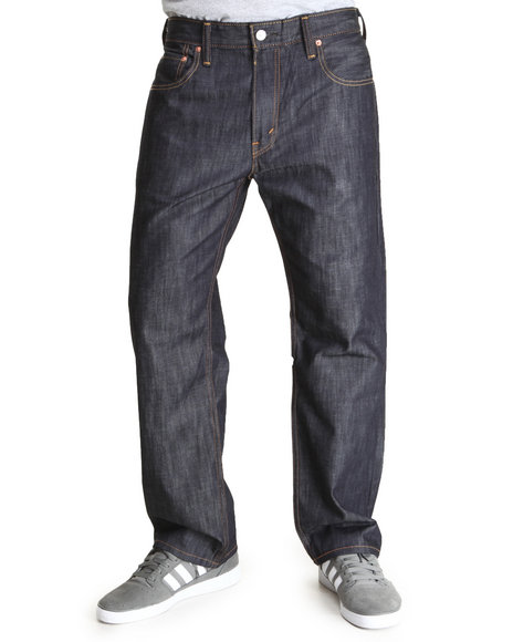 Levi's Dark Blue 569 Loose Straight Fit Ice Cap Jeans