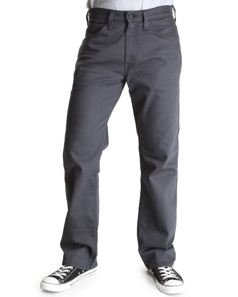 Levi's Black,Grey 569 Loose Straight Fit Line 8 Grey/Black 3D Black Fill Jeans