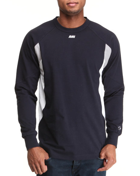Hall of Fame Navy A#1 Performance L/S Shirt