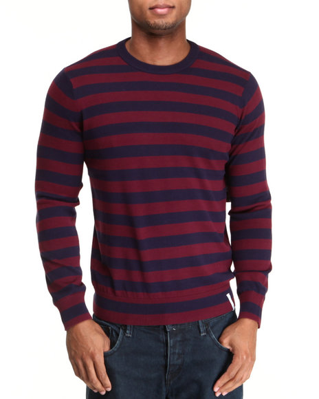 Burton Navy Champlain Striped Sweater