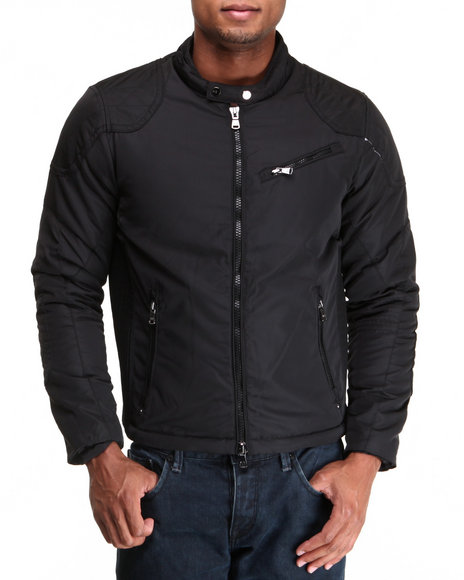 Buyers Picks - Men Black Ryderz Moto X Jacket