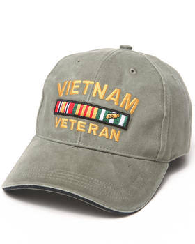 DRJ Army/Navy Shop - Vietnam Vet Deluxe Low Profile Insignia Cap