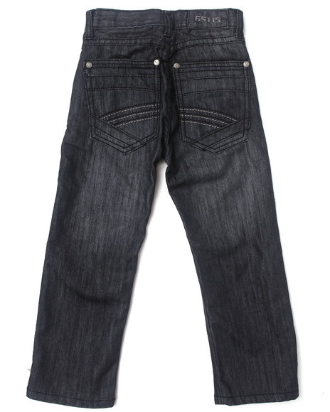 Arcade Styles - Boys Grey Ez Premium Jeans (4-7)