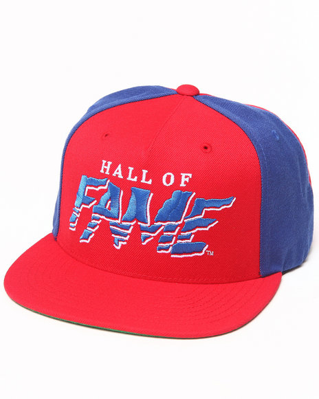 Hall Of Fame Tear Snapback Cap Blue