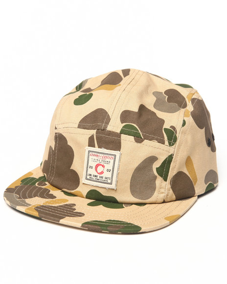 Camouflage Fitted Hat